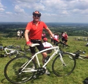 Top of Ditchling Beacon